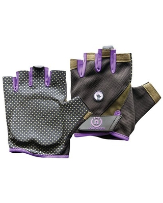 Natural Fitness Wrist Assist Gloves for Extra Support Needed During Yoga, Pilates, Weight-Training, and More – Small