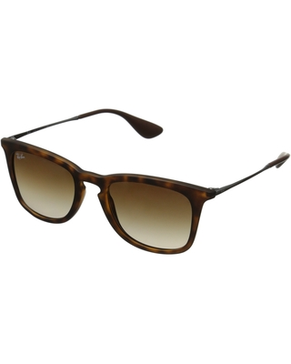 Ray-Ban RB4221 50mm (Havana Rubberized/Brown Gradient) Fashion Sunglasses