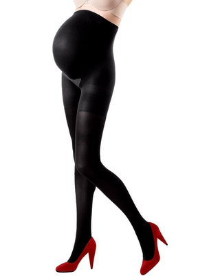 Assets By Spanx Maternity Terrific Tights - Black 1, Women's