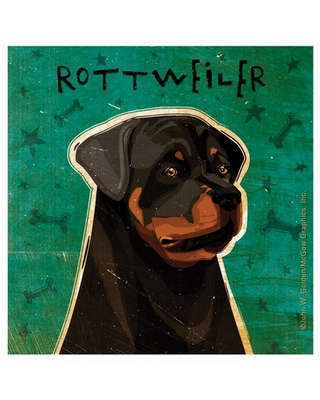 Thirstystone Occasions Drink Coasters, Set, Rottweiler