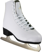 American Athletic Shoe Women's Tricot Lined Figure Skates, White