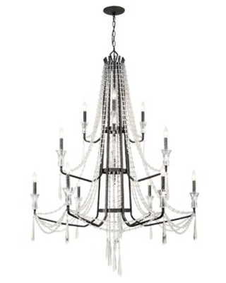 Discover Deals On Barcelona 12 Light Candle Style Classic Traditional Chandelier Varaluz