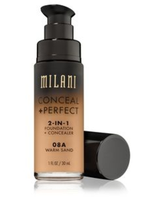 Milani Conceal + Perfect 2-in-1 Foundation + Concealer, Warm Sand - 1 oz   CVS