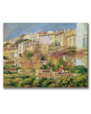 Shop For Terrace In Cagnes By Pierre Auguste Renoir Painting Print On Wrapped Canvas Vault W Artwork Size 26 H X 32 W X 2 D