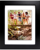 """Wide Gallery Float Frame Black 11""""x14"""" - Made By Design"""