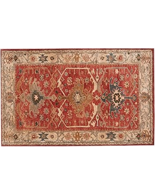 Channing Persian Rug, 5 x 8', Red