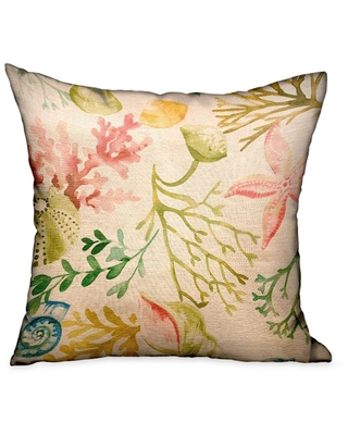 Amazing Deals On Plutus Underthesea Multi Floral Luxury Decorative Throw Pillow Double Sided 20 X 26 Standard