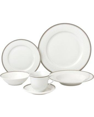 Lorren Home Trends 24 Piece Dinnerware Set Service for 4 LH433 Color Silver  sc 1 st  Better Homes and Gardens & Check Out These Bargains on Lorren Home Trends 24 Piece Dinnerware ...