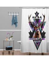 East Urban Home Young Memories Polyester Shower Curtain HACO3288