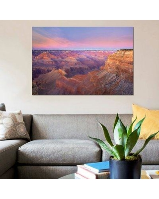 """East Urban Home 'Grand Canyon Mohave Point at Sunset Grand Canyon National Park Arizona' Graphic Art Print on Canvas ESBH8181 Size: 18"""" H x 26"""" W x 1.5"""" D"""