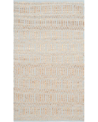 Safavieh Cape Cod Silver/Natural 3 ft. x 5 ft. Area Rug