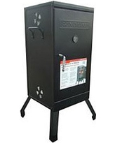Brinkmann Charcoal Smoker, Black (Porcelain)