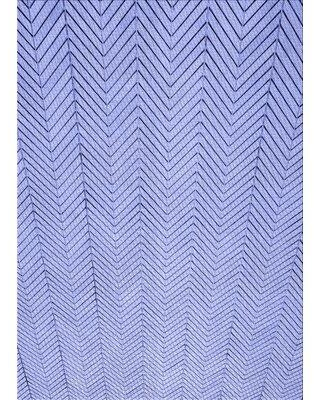 East Urban Home Patterned 3864 Blue Area Rug X113673125 Rug Size: Rectangle 2' x 3'