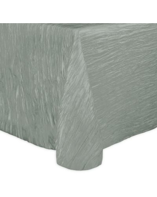 Ultimate Textile Delano 70-Inch x 104-Inch Oblong Tablecloth in Platinum