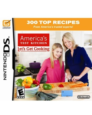 Americas Test Kitchen Let's Get Cooking, Nintendo, NintendoDS, 045496740764