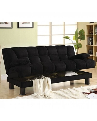"""Cherena Twin 73.75"""" Biscuit Back Convertible Sofa"""