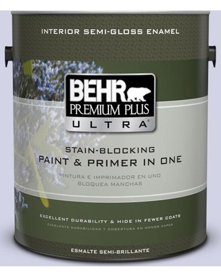 1 Gal M550 1 White Lavender Semi Gloss Enamel Interior Stain Blocking Paint And