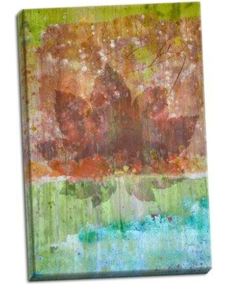 Millwood Pines 'Maple Leaf II' Graphic Art Print on Wrapped Canvas BI051516
