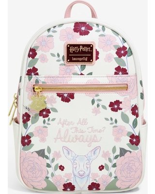 5436cd2342e Loungefly Harry Potter Always Floral Mini Backpack - BoxLunch Exclusive