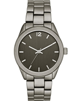 Men's Matte Bracelet Watch - Goodfellow & Co Gunmetal