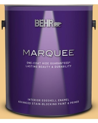 Can T Miss Deals On Behr Marquee 1 Gal Home Decorators Collection Hdc Cl 16 Beacon Yellow Eggshell Enamel Interior Paint Primer