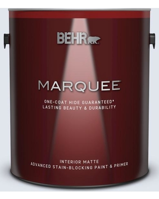 BEHR MARQUEE 1 gal. #600E-1 Genteel Lavender Matte Interior Paint and Primer in One