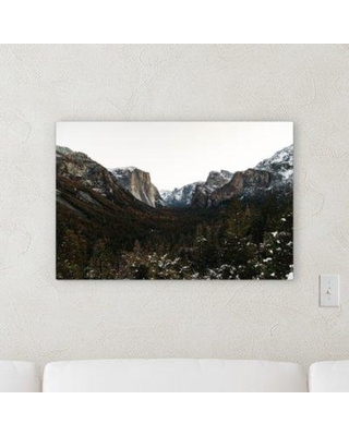 "Millwood Pines 'Yosemite' Photographic Print on Wrapped Canvas BI068640 Size: 24"" H x 36"" W x 2"" D"