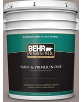 Amazing Deal On Behr Premium Plus 5 Gal 780b 5 Cheyenne Rock Flat Exterior Paint And Primer In One