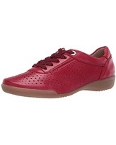 ara Women's Lace-up Sneakers, Rot, 8.5 M US
