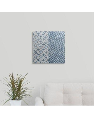 """Great Big Canvas 'Maki Tile III' by Kathrine Lovell Graphic Art Print 2434134_1 Format: Canvas Size: 16"""" H x 16"""" W x 1.5"""" D"""
