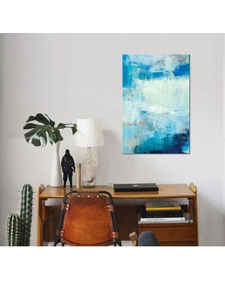 """East Urban Home 'Kenning IV' Oil Painting Print on Wrapped Canvas ESUH7619 Size: 40"""" H x 26"""" W x 1.5"""" D"""