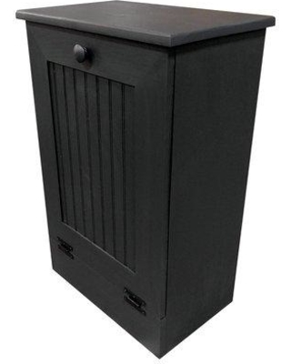 Rebrilliant Manual Solid Pull Out Trash Can in Small REBR2066 Color: Black