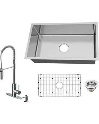 Spectacular Savings On Glacier Bay All In One Undermount 18 Gauge