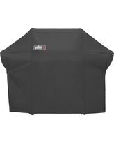 Weber Summit 400 Series Grill Cover with Storage Bag, Black