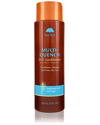 Multi-Quench 3-in-1 Conditioner, Tree Hut Hair & Scalp Treatment With Organic Shea Butter, for Normal To Dry & Color Treated Hair, No Sulfates, Made In USA, 12 Fl. Oz