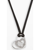 Insignia Collection Nascar Dale Earnhardt Jr. Sterling Silver 88 Heart Pendant, Women's, Grey