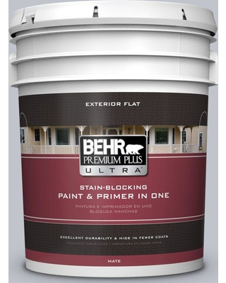 Spectacular Sales For Behr Ultra 5 Gal N540 2 Glitter Color Flat Exterior Paint And Primer In One