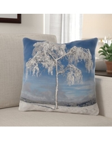 Here S A Great Deal On Purtell Winter Indoor Outdoor Canvas Throw Pillow The Holiday Aisle