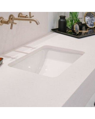 Kohler Ladena Ceramic Rectangular Undermount Bathroom Sink With Overflow K  2214 Finish: White