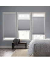 New Deal For Home Decorators Collection Snow Drift Shadow White Cordless Day And Night Blackout Cellular Shade 32 5 In W X 72 In L