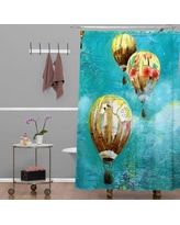 Deny Designs Land Of Lulu Herd of Balloons 2 Shower Curtain 13665-shocur