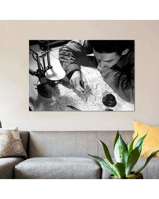 "East Urban Home 'Sergeant Inking' Graphic Art Print on Canvas EBHR3470 Size: 18"" H x 26"" W x 1.5"" D"