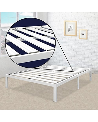 Twin-XL No Box Spring Needed Platform Bed Frames