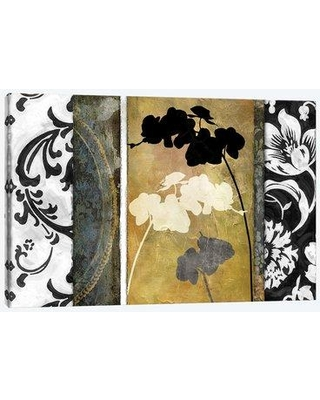 """East Urban Home 'Gardenscape I' Graphic Art Print on Wrapped Canvas EBHS1109 Size: 18"""" H x 26"""" W x 0.75"""" D"""
