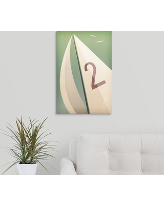 "GreatBigCanvas ""Sails Viii"" by Ryan Fowler Canvas Wall Art, Multi-Color"