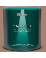Can T Miss Deals On Behr Marquee 1 Qt S190 4 Spiced Brandy One Coat Hide Eggshell Enamel Interior Paint Primer