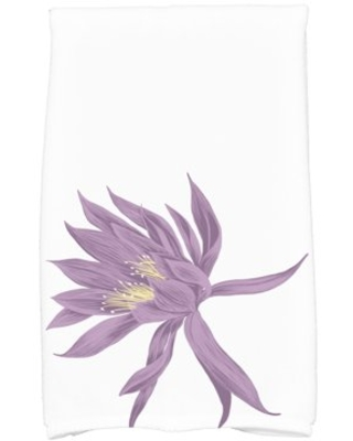 Simply Daisy, 16 x 25 Inch, Hojaver, Floral Print Kitchen Towel, Purple