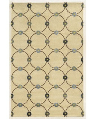 Rizzy Home Hand-tufted Wool and Viscose Gillespie Avenue Accent Rug (9' x 12') (9' x 12' - IVORY)