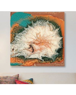 "East Urban Home 'Caldera I' Graphic Art Print on Canvas ESUR1841 Size: 26"" H x 26"" W x 1.5"" D"