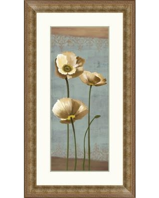 PTM Images Blooming Poppy I Framed Painting Print 2-11368B
